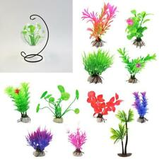Artificial Aquatic Water Grass Plastic Plant Coral Aquarium Fish Tank Decor PICK