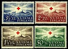 FINLAND Sc.# B35-38 Stamps