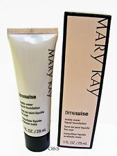 MARY KAY MATTE WEAR LIQUID FOUNDATION IVORY SHADES FOR COMBINATION/OILY SKIN