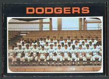 1971 Topps #402 Dodgers Team EX 713420