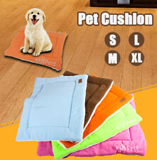 Warm Soft Fleece Pet Dog Cat Kennel Puppy Bed Mat Pad Cushion Bed Washable NEW