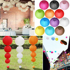 """10 pcs 4""""6""""8""""10""""12"""" Lot Chinese Paper Lantern Wedding Prom Party Home Decoration"""