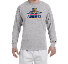 Florida Panthers Champion LONG SLEEVE T-Shirt Tagless T Shirt Adult NEW