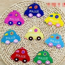 10pcs/set Cartoon Cars Iron/Sew On Embroidered Patches/Badges Applique Motif
