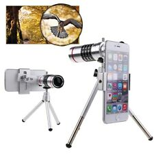 18X Zoom Camera Telephoto Telescope Lens+Mount Tripod For iPhone For Smart Phone