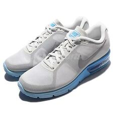 Wmns Nike Air Max Sequent Grey Blue Womens Running Shoes Sneakers 719916-014