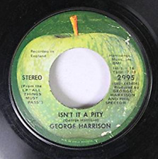 GEORGE HARRISON 45 RPM ISN'T IT A PITY / MY SWEET LORD, GEORGE HARRISON,Good, ##