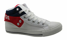 Converse Chuck Taylor All Stars Layer Mid Mens Trainers Boots White 124561 U47