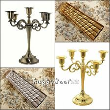 5 arms Metal Crafts Alloy Candle Holder Candelabra & Candles Home Wedding Decor