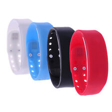 Smart Wrist Watch Pedometer Calorie Counter Silicone Band Thermometer Fashion