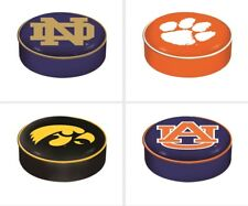 Choose Your NCAA Team Heavy Duty Vinyl Bar Stool Seat Cover by Holland Bar Stool