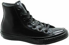Converse Chuck Taylor Ct All Star Hi Top Trainers Rubber Black Womens 547254C D3