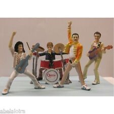 QUEEN FIGURES FIGURES FREDDIE MERCURY BRIAN MAY JOHN DEACON ROGER TAYLOR FIGURE