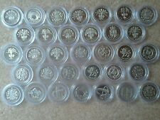 UK £1 PROOF DECIMAL ONE POUND COINS IN CAPSULE - CHOICE OF DATES FROM 1983-2016