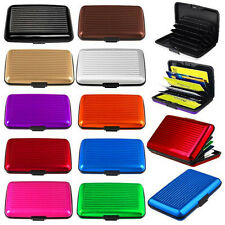 NEW Waterproof Wallet Holder Business ID Credit Card Aluminum Metal Pocket Case