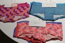 NEW CALVIN KLEIN GIRLS UNDERWEAR BOYSHORTS BRIEF X3 SIZE 6-7,SIZE 8-10