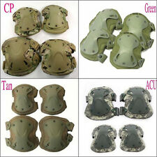 tactical airsoft combat -protective skate knee pads adjustable knee & elbow pad