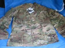 USGI MULTICAM COAT JACKET FLAME RESISTANT FRAQ ARAMID MEDIUM LONG NWT 9823
