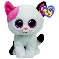 TY BEANIE BOO  BOOS MUFFIN THE CAT  BUDDY  9 INCHES   PURPLE TAG SOLID EYES