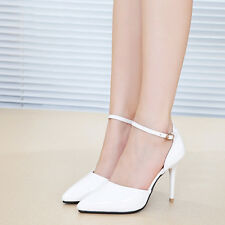 Fashion Women Pumps Platform Strappy Wedges Stiletto High Heels Party Shoes Cve