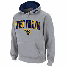 Stadium Athletic West Virginia Mountaineers Gray Arch & Logo Pullover Hoodie