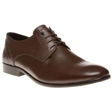 New Mens SOLE Brown Myrtle Leather Shoes Lace Up