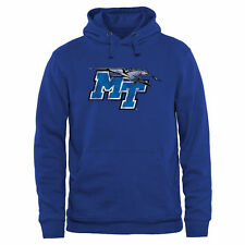 Middle Tennessee State Blue Raiders Black Classic Primary Pullover Hoodie