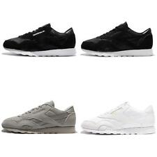 Reebok CL Nylon P Suede Classic Mens Running Shoes Sneakers Pick 1