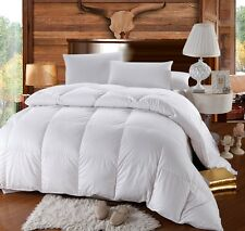 Full/Queen Royal Hotel Goose Extra Warmth Down Comforter Baffle Box 500TC