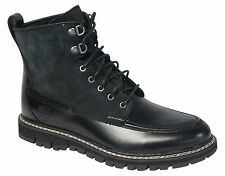 Timberland Britton Hill Moc Toe Waterproof Mens Boots Black Leather 7746B D1