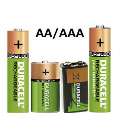 Original Duracell various BATTERIES/Battery RECHARGEABLE Battery loose NEW
