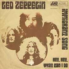 Led Zeppelin - Immigrant Song / Hey, Hey, What Ca 7