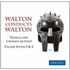Walton conducts Walton (Facade Suites 1&2, Troilus and Cressida) Audio CD