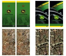 Choose John Deere or Camouflage Tailgate Toss Cornhole Shield Vinyl Decal Wraps