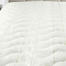 Twin XL Waterproof Bamboo Jacquard Mattress Pad-Super Soft & Cool To The Touch