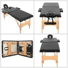 "New 2 Pad 73"" Massage Table Folding Facial Bed Beauty Bed For Spa Tattooing J5R1"