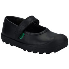 Infant Girls Kickers Plunk Shoe In Black From Get The Label