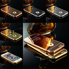 Luxury Aluminum Ultra-thin Mirror Metal Case Cover for Apple iPhone 7