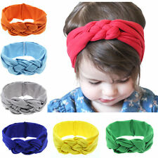 Cute Fashion Kids Baby Girl Toddler Solid Headband Hair Band Accessories New
