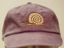 SNAIL WILDLIFE HAT MEN WOMEN SOLID COLOR BASEBALL CAP - Price Embroidery Apparel