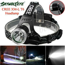 5000LM CREE XM-L XML T6 LED Flashlight Headlamp Headlight head light lamp 18650