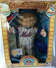 Vintage Cabbage Patch Kids All Stars NY New York Mets Doll New Rare 1986 Coleco