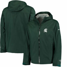 Columbia Michigan State Spartans Green EvaPOURation Full-Zip Jacket