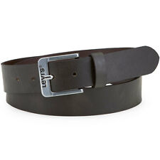 Levis Free Mens Belt Leather - Dark Brown All Sizes
