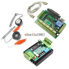 CNC MACH3 Router Machine Motor&Interface Breakout Board&Auto-Check Instrument US