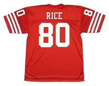 JERRY RICE San Francisco 49ers 1988 Throwback NFL Football Jersey