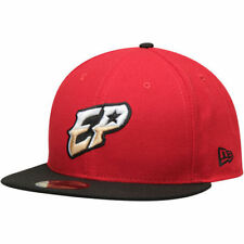 New Era El Paso Chihauhuas Red/Black Authentic Road 59FIFTY Fitted Hat