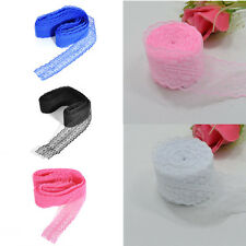 Chic 10 Yard Embroidered Net Lace Trim Ribbon Lace Clothing Decoration Wholesale
