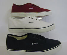 A2104 Mens Unbranded Casual Lace Up Pumps Burgandy,Navy,& White sizes 6-11