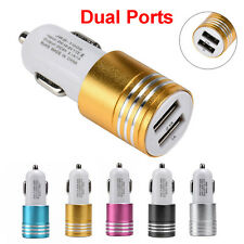 3.1A Mini Dual 2 Port USB Car Charger Adapter Travel For Apple iPhone Samsung